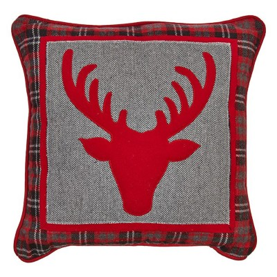 Raz Imports Deer Pillow