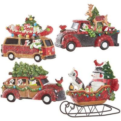 Raz Imports Assorted Traveling Snowman Ornament