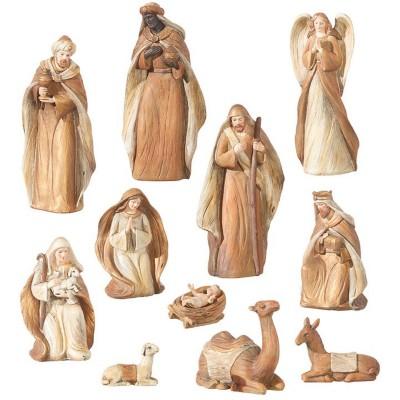 Raz Imports Nativity Figurine Set