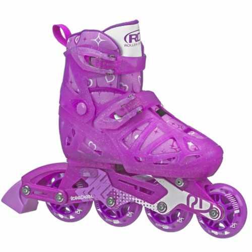 Girls' Roller Derby Tracer Adjustable Inline Skates