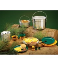 Texsport Four-Person Heavy-Duty Aluminum Cook Set