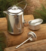 Texsport 9 Cup Aluminum Percolator