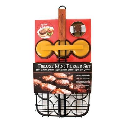 Charcoal Companion Deluxe Mini-Burger Set
