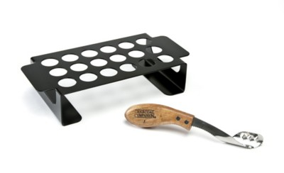 Charcoal Companion Chili Pepper Grilling Rack and Corer Set