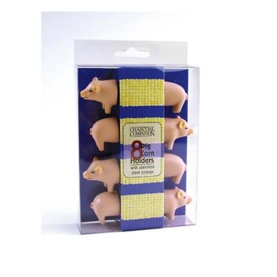 Charcoal Companion Pig Corn Holders