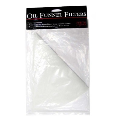 Charcoal Companion Oil Funnel Filters