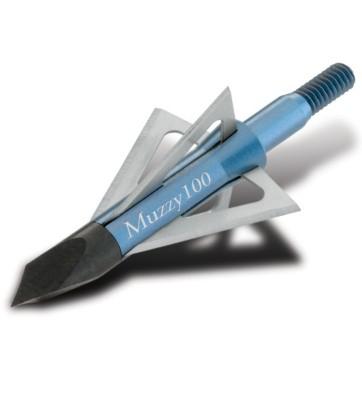 Muzzy 100 Grain 4-Blade Screw-in Broadhead