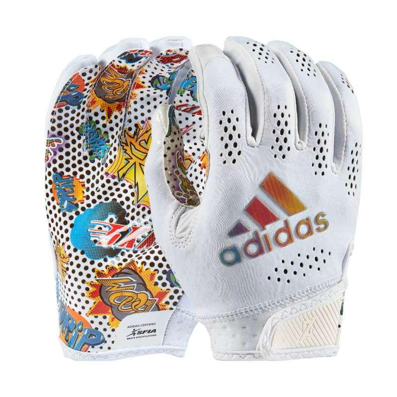 Men's adidas Adizero 11 Comics Football Gloves