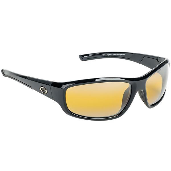 890c02796f Strike King S11 Bristol Polarized Sunglasses Black Yellow