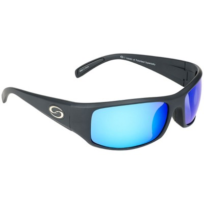 Strike King S11 Okeechobee Polarized Sunglasses Black Blue