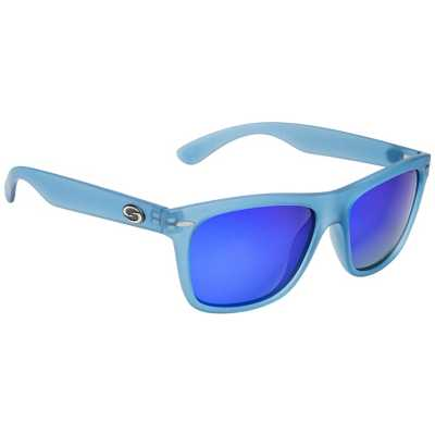 Matte Translucent Blue/Blue Mirror