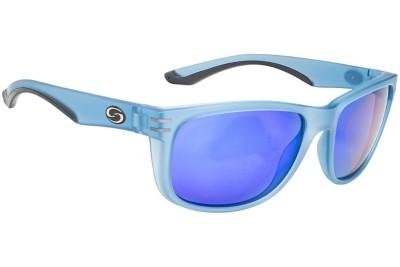 Strike King S11 Cumberland Sunglasses Black Frame Green Mirror Lens