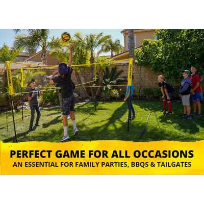 CROSSNET: Four Square Meets Volleyball