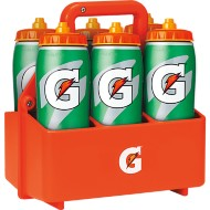 Gatorade 6 Squeeze Bottle Carrier