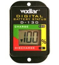 Vexilar Digital Battery Status Indicator