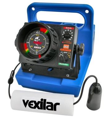 Vexilar FL-8SE Genz Pack with 19 Degree Ice Ducer Flasher Sonar