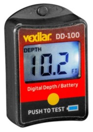 Vexilar Digital Depth/Battery Gauge
