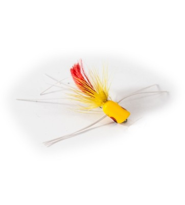 Umpqua Micro Popper Fly Lure Yellow