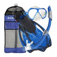 U.S. Divers Yucatan/Noosa/Starboard Snorkel Set