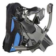 U.S. Divers LUX LX Purge/Phoenix Go LX/Pivot Dive Snorkel Set