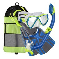U.S. Divers Regal Jr/Laguna/Lava Snorkel Set