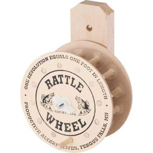 Productive Alternatives Wooden Rattle Wheel