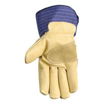 Men's Wells Lamont Insulated Palomino Grain Leather Gloves