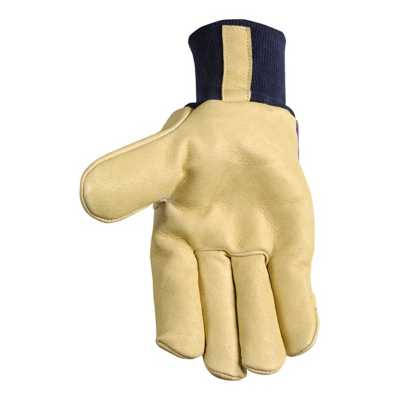 Men's Wells Lamont Insulated Palomino Cuffed Grain Leather Gloves
