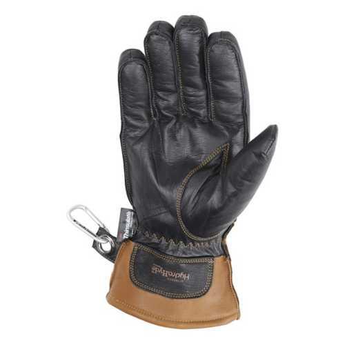Men's Wells Lamont Hydrahyde Insulated Black Grain Goatskin Gloves