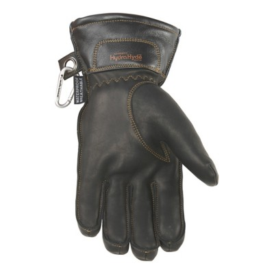 Men's Wells Lamont Hydrahyde Insulated Black Goatskin Gloves