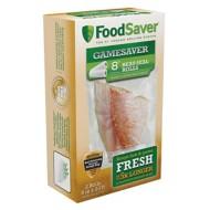 """FoodSaver GameSaver Vacuum-Seal 8"""" Replacement Roll 2-Pack"""