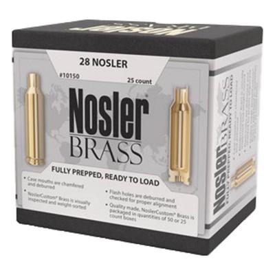 Nosler Brass 28 Nosler 25/bx