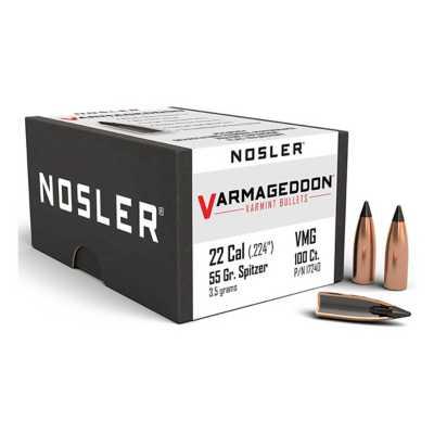 Nosler 22 Caliber 55 Grain Tipped Varmageddon Bullet