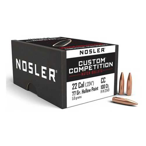 Nosler Custom Competition Match Bullets