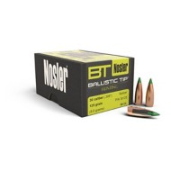Nosler 30 Caliber 125 Grain Ballistic Tip Hunting Bullet 50 Count