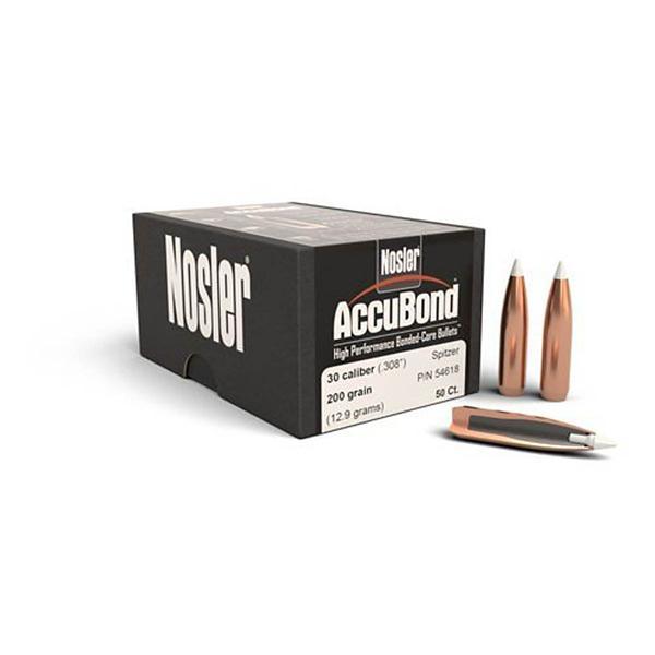 AccuBond Bullets  308 Diameter 200 Grain Spitzer