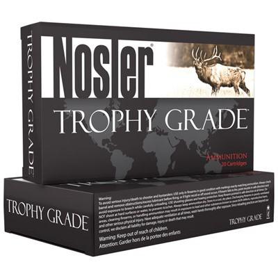 Nosler Trophy Grade Ammo 338 Win Mag 225gr E-Tip 20/bx