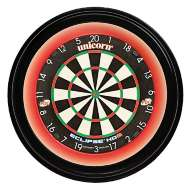 Unicorn LED Pro Solar Surround Slimline Dartboard Red Halo Light Illumination