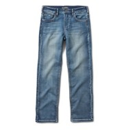 Grade School Boys' Silver Benny Straight Leg Jean