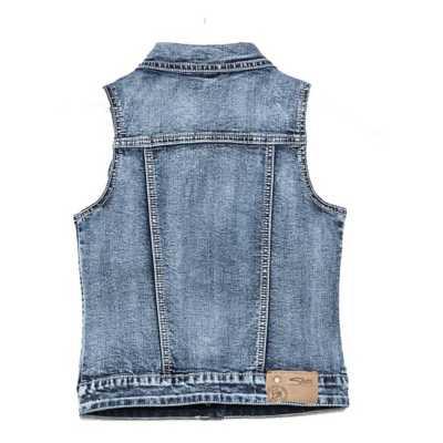 Girls' Silver Jeans Denim Leah Vest