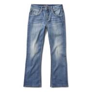 Grade School Boys' Silver Zane Bootcut Jean