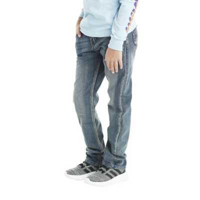 Boys' Silver Nathan Skinny Jean