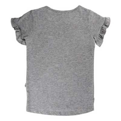 Girls' Silver Jeans Striped Pocket T-Shirt