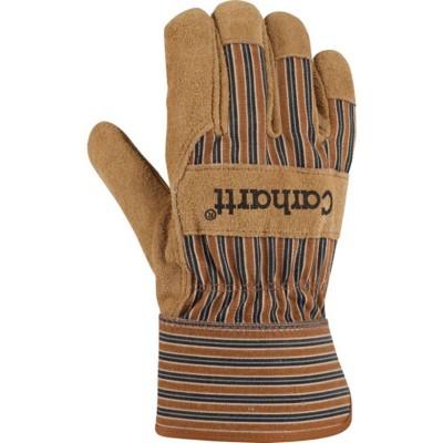 Men's Carhartt Insulated Suede Work Gloves Safety Cuff