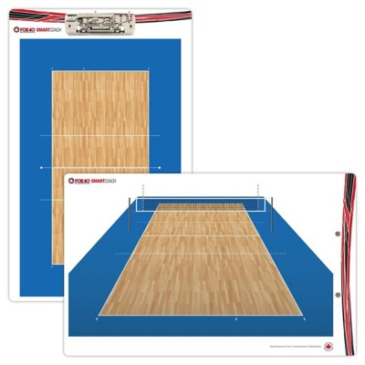 SmartCoach Pro 10x16 Volleyball Clipboard