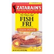 Zatarain's Fish Fri Lemon Pepper Breading