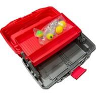 Flambeau Adventurer 2-Tray 137 Pc Tackle Box Kit