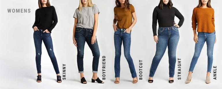 womens jean styles
