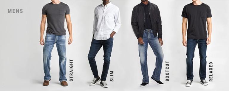 mens jean styles