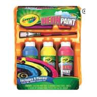 Crayola Neon Sidewalk Paint Tray Set